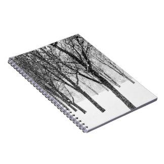 Caderno como eu tomo partido das árvores