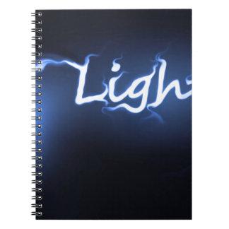 Caderno Conceito claro da chama
