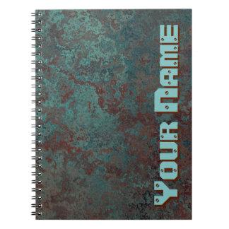"""Caderno conhecido """"de cobre"""" do impressão da"""