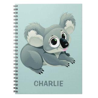 Caderno conhecido feito sob encomenda do Koala