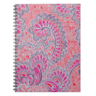 caderno cor-de-rosa da foto do design da arte da