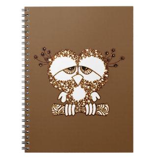 Caderno Coruja triste