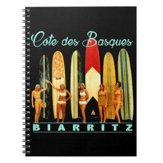 Caderno Costa dos Basco Biarritz
