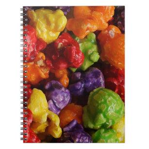 Caderno cristalizado da pipoca
