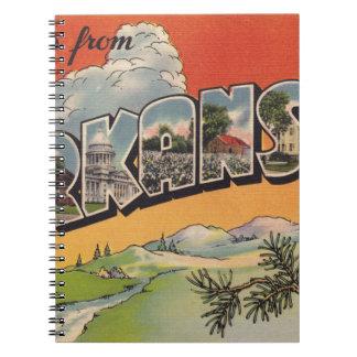 Caderno Cumprimentos de Arkansas