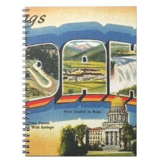 Caderno Cumprimentos de Idaho