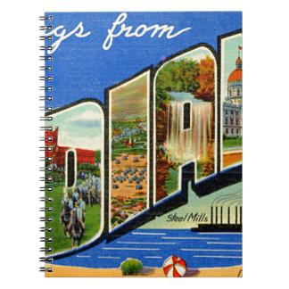 Caderno Cumprimentos de Indiana
