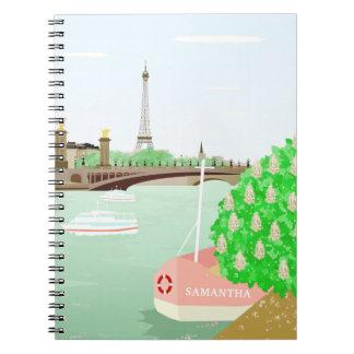 Caderno da arquitectura da cidade de Paris do