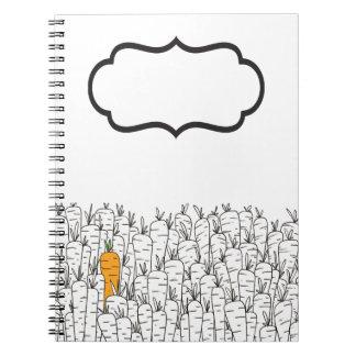 Caderno da cenoura