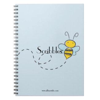 Caderno da escrita