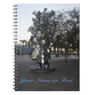 Caderno da escultura #2 de San Francisco