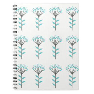 Caderno da flor do desejo