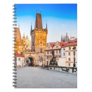 Caderno da foto (80 páginas B&W) Praga