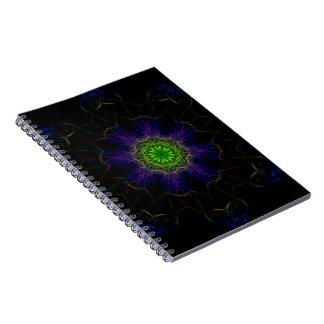 Caderno da foto da mandala de Smokin