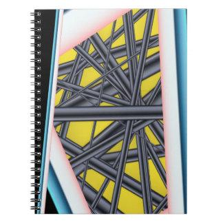 Caderno da foto do abstrato 3