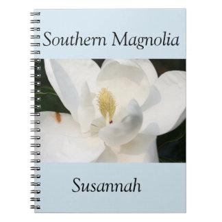 Caderno da magnólia