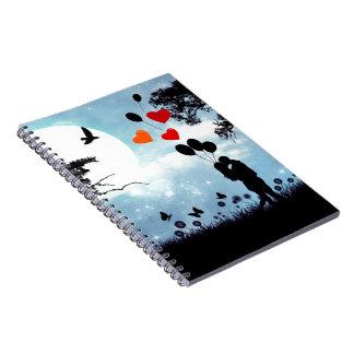 Caderno da meia-noite do beijo