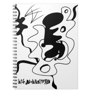 Caderno da página do abstrato 80 (LI6 ilimitados)
