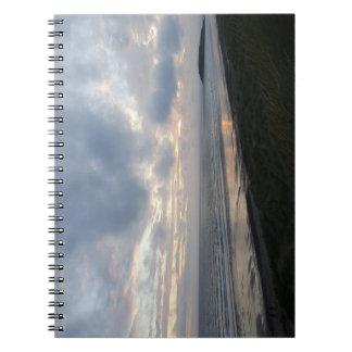 Caderno da praia da península de Gower