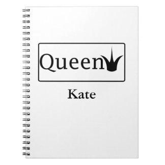Caderno da rainha
