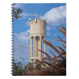 Caderno da torre de água de Longreach