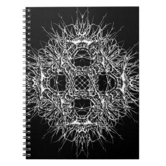 Caderno dark 666