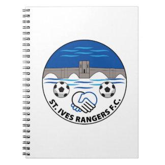 Caderno das guardas florestais FC de St Ives