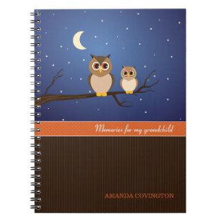 Caderno das memórias do neto das corujas