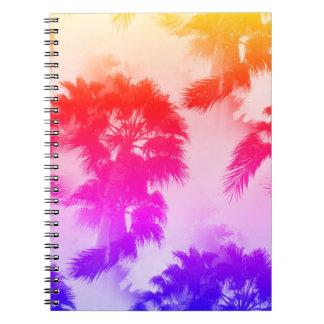 Caderno das palmeiras