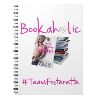 Caderno de Bookaholic do #TeamFosterette