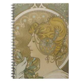 Caderno de Brigid do vintage