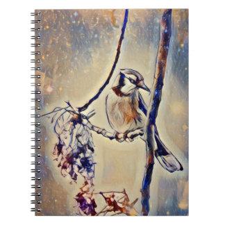 Caderno de Jay azul