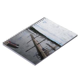 Caderno de MaineSpiral do porto de Boothbay das