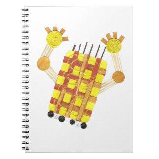 Caderno de patinagem do sabão
