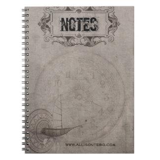 Caderno de Steampunk