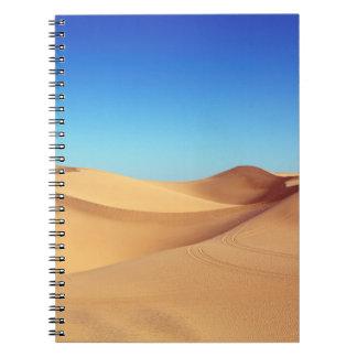 Caderno deserto bonito