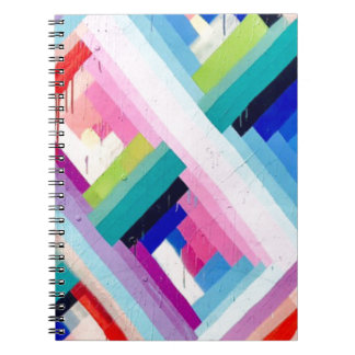 CADERNO DESIGN COLORIDO DO DIVERTIMENTO