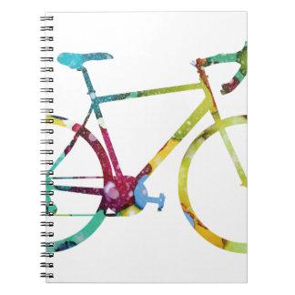 Caderno Design da bicicleta