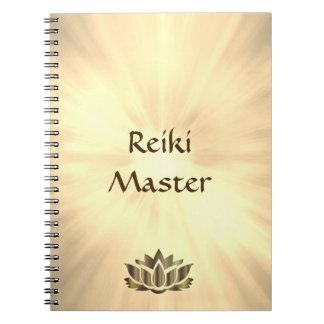 Caderno Design do mestre de Reiki