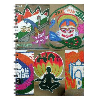 Caderno Design indiano étnico