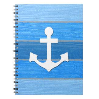 Caderno Design temático náutico
