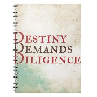 Caderno Destino