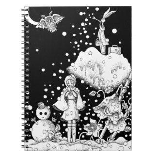 Caderno Dia da neve