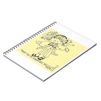 Caderno do anjo-da-guarda