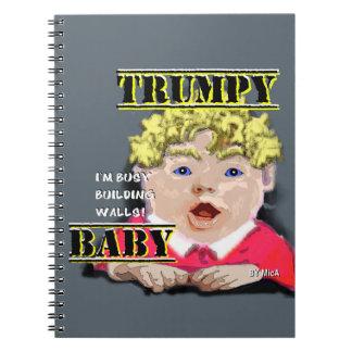 Caderno do bebê de Trumpy