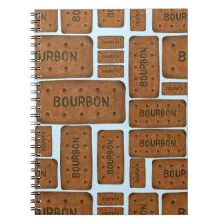 Caderno do biscoito de Bourbon