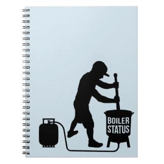 caderno do boilerstatus