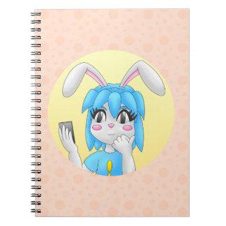 caderno do coelho