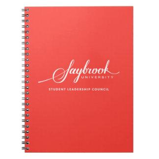 Caderno do Conselho de liderança do estudante de
