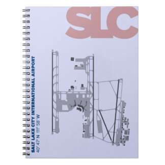 Caderno do diagrama do aeroporto de Salt Lake City